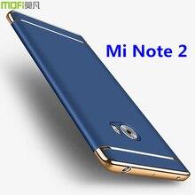 Xiaomi mi примечание 2 крышки случая mi примечание крышка аксессуары класса люкс MOFi оригинальный назад коке капа funda собрать корпус изогнутый 5.7″