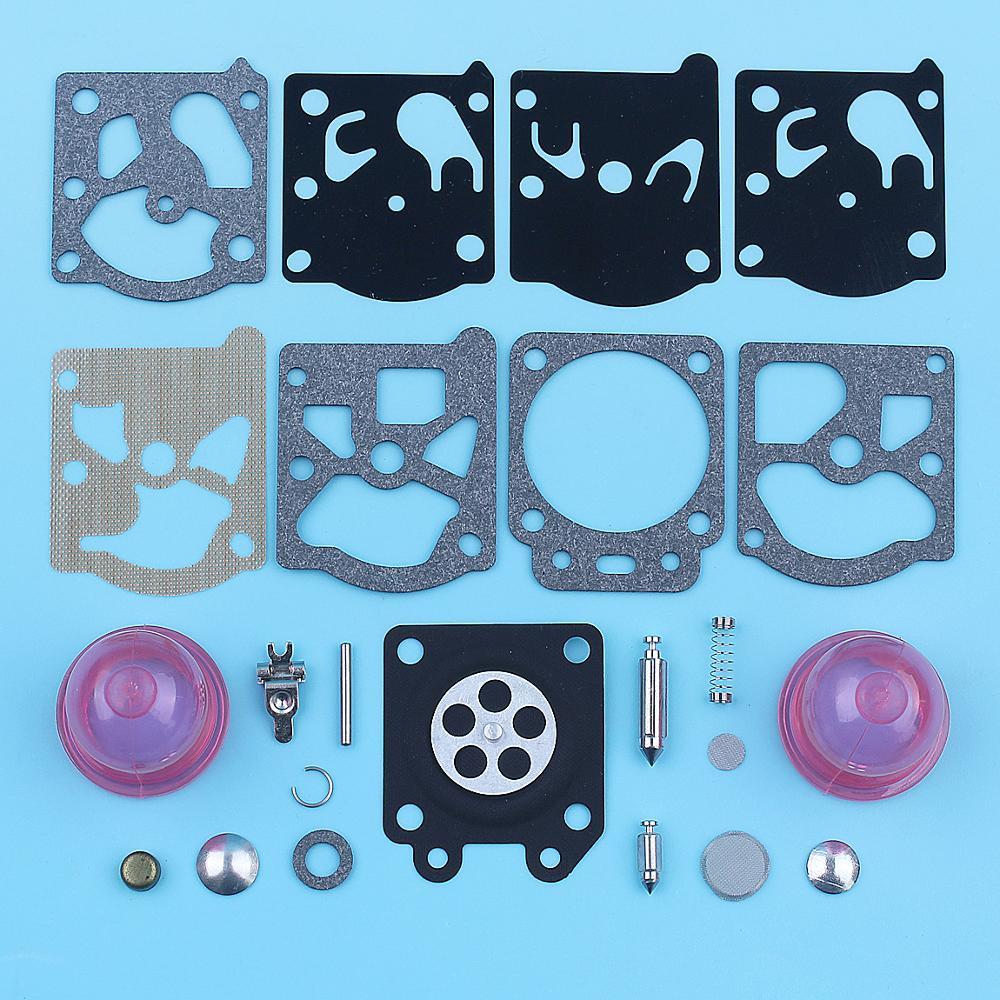 Carburetor Primer Bulb Overhaul Repair Rebuild Kit For Walbro K24-WAT Blower Trimmer Chainsaw WT866 WT924 WT773 WT775 WT 925 973