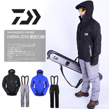 2017 NEW DAIWA Fishing jacket parka waterproof Two-piece suit Plus velvet Keep warm DAWA Autumn And Winterr DAIWAS Free shipping