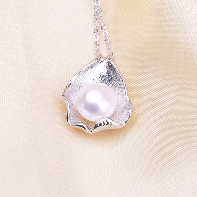 BaroqueOnly Pendant Mountings Women Accessories Female Lady Girls' Jewelry Fashion Pearl Charm Pendant Findings PAT