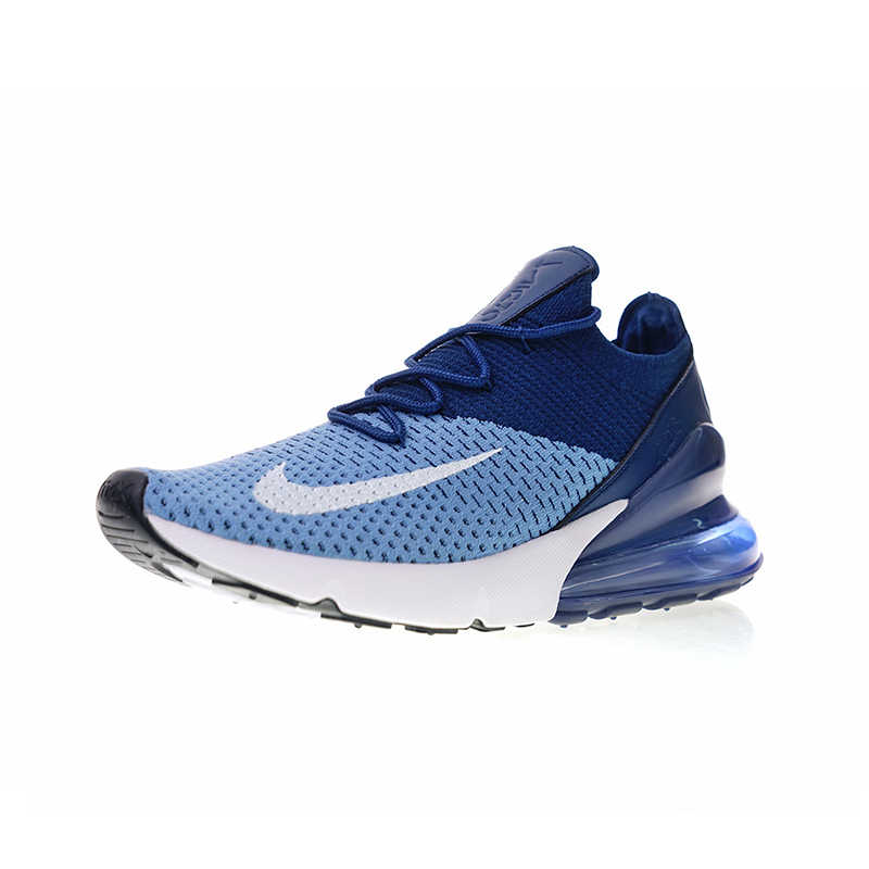 newest 7103b 729ce ... Original Authentic Nike Air Max 270 Flyknit Men s Comfortable Running  Shoes Sport Outdoor Walking Sneakers Breathable ...