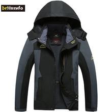 DrMundo Plus Size Mountain skiing ski-wear waterproof hiking outdoor jacket snowboard jacket ski suit men Big yards snow jackets