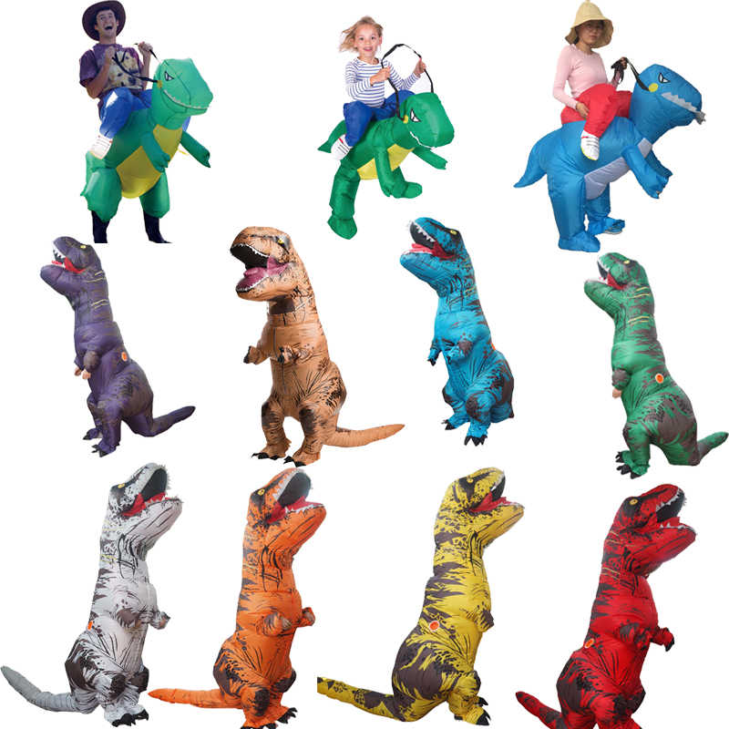 485cce20bcd0a Detail Feedback Questions about Inflatable Dino T Rex Costume For Adults  kids Halloween t rex Dinosaur Costumes For Woman Man Fantasy Dinosaur Fancy  Dress ...