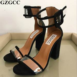 bbf443b566a GZGCC ladies High Heels Sandals summer shoes woman