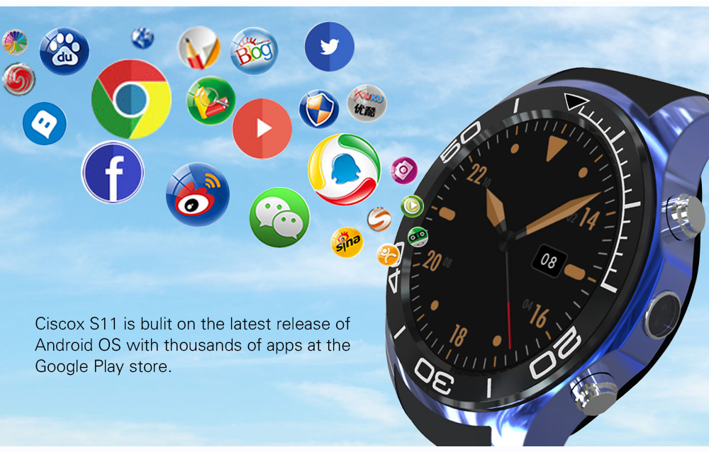 Smartch  S1 Smart Watch 3G GPS 512MB 4G Bluetooth With Wifi Google navigation Heart Rate Monitor Wearable Device Compatible syst smartch 3g s1 smart watch phone 521mb 4g bluetooth4 0 android 5 1 smartwatch with wifi gps google map heart rate monitor wearabl