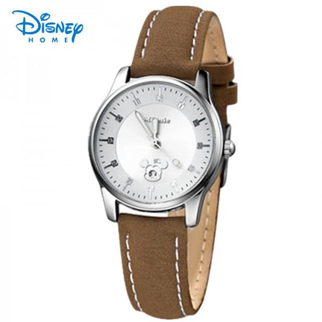 100% Подлинная Диснея Кварцевые Часы Бренд Женщин Любителей Часы Случайные Часы Relógio Feminino Часы Женщины Наручные Часы Мужской relojes