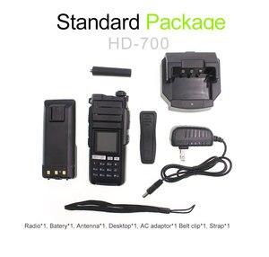 Image 5 - 4G LTE Android Walkie Talkie 4G HD700 red Radio del teléfono intercomunicador resistente teléfono inteligente REAL PTT Radio
