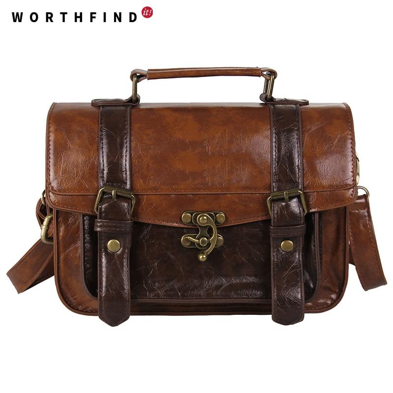 WORTHFIND Sieviešu Messenger Bags Liela ietilpības cēloniskā - Rokassomas