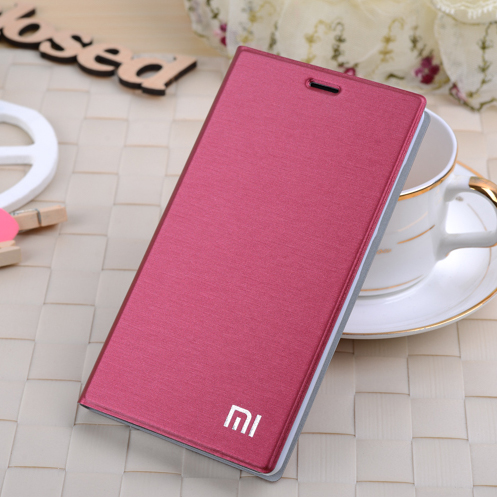 imágenes para Colores nueva marca para xiaomi mi4i mi 4i m4i 7 teléfono flip case titular de la tarjeta elegante de la cubierta protectora para xiaomi 4c auto estela del sueño arriba