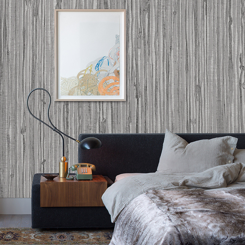 Beibehang Wood grain Solid Color WallPaper Modern light grey Living Room Sofa TV Background Wallpaper Roll Desktop 3d wallpaper футболка с полной запечаткой для мальчиков printio merry christmas рокер санта