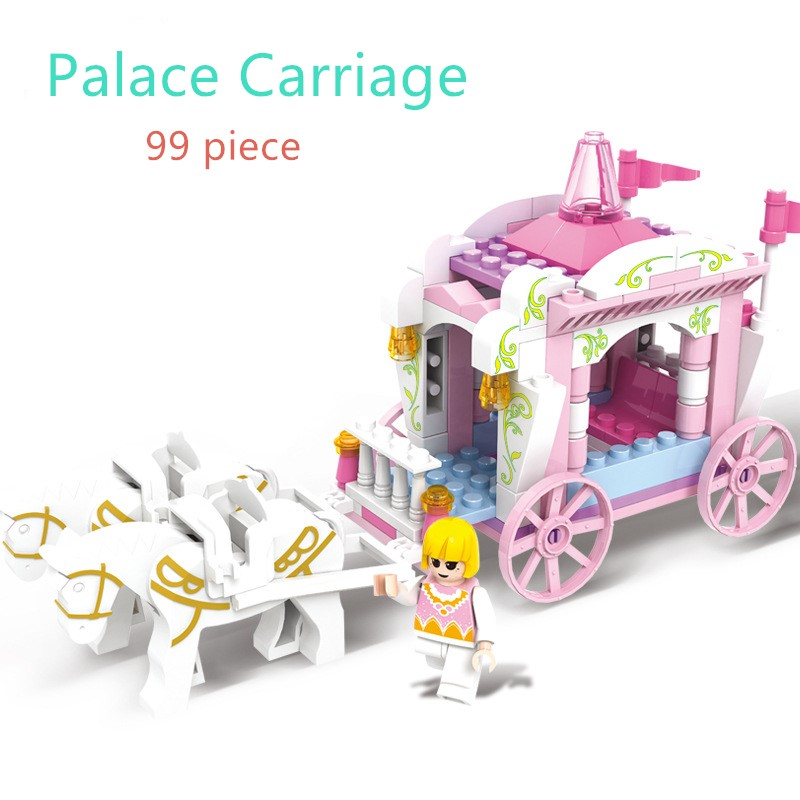 7-Style-Kids-Dream-Princess-and-Prince-Pink-Palace-Castle-Set-Model-Building-Blocks-Compatible-With-Lego-Gifts-child-Toys-5