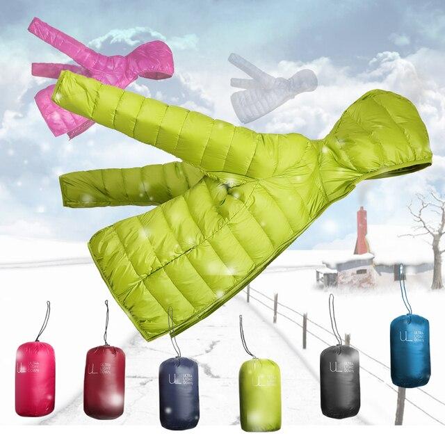 winter designer women jacket  white duck down white ultra thin duck down jacket women for girl snow parka jacket