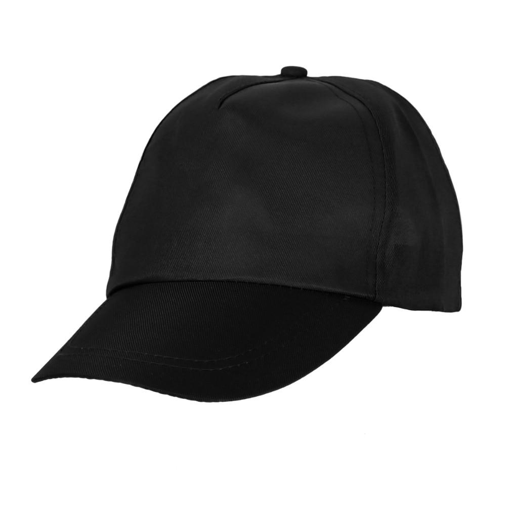 447d13610aa 2016Summer Men s Basic BaseballCapUnisex Plain Fitted Women s HatsCaps  Visor Solid Color Blank Flat Hat 6 Colors