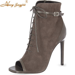 9bbd61d39224 NANCYJAYJII Ankle Boots Casual Women Shoes Ladies Size