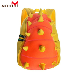 Image 4 - NOHOO 子供ランドセルキッズベビー 3D 恐竜リュック幼児のバックパックの少年少女のための恐竜ランドセル漫画のおもちゃの袋