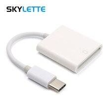 タイプ C SD カードリーダーカメラキット互換必要はありませんアプリケーション USB C OTG データケーブル Xiaomi 6 銀河 S8 Macbook Pro