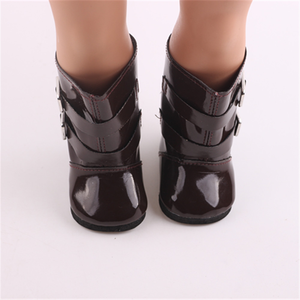 High quality boots for 18 inch American  doll accessories, is to give the child the best gift!b872