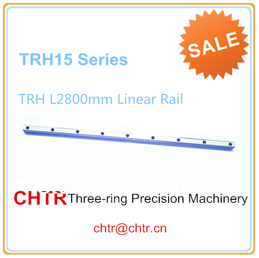15mm 1pc TRH15 Length 2800mm Linear Guide Rail Linear Guideway   (can be cut any length)