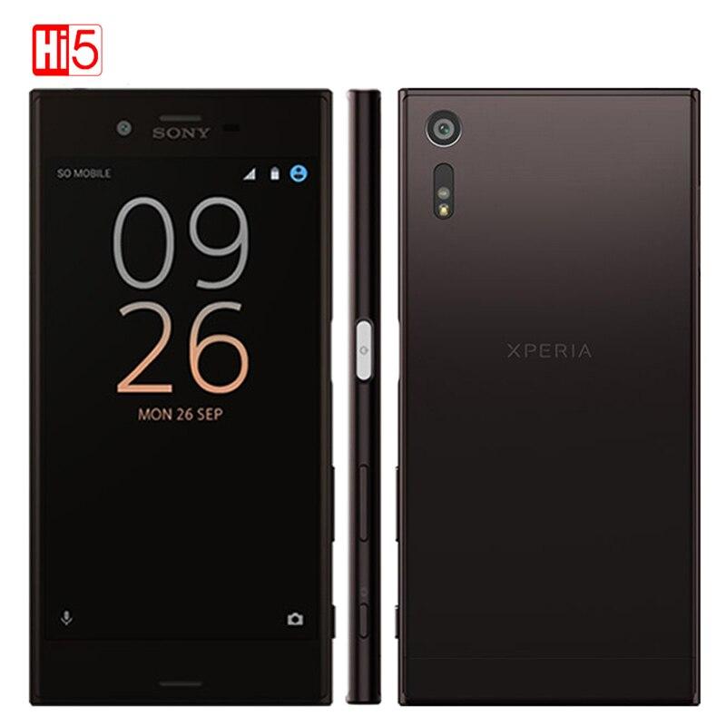 Débloqué Original Sony Xperia XZ F8331/F8332 RAM 3 gb GSM Double Sim 4g LTE Android Quad Core 5.2 23MP WIFI GPS 2900 mah Smartphone