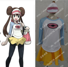 Pokemon Rosa Cosplay Costume With Hat