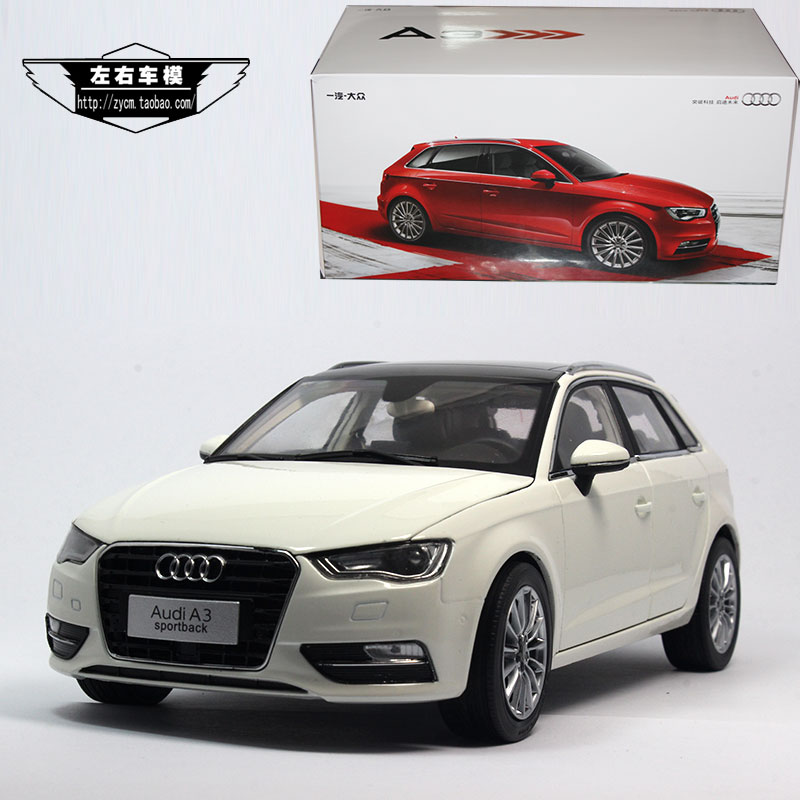 Brand New 1 18 Scale Germany Audi A3 Sportback 2014 Diecast Metal Car Model Toy For