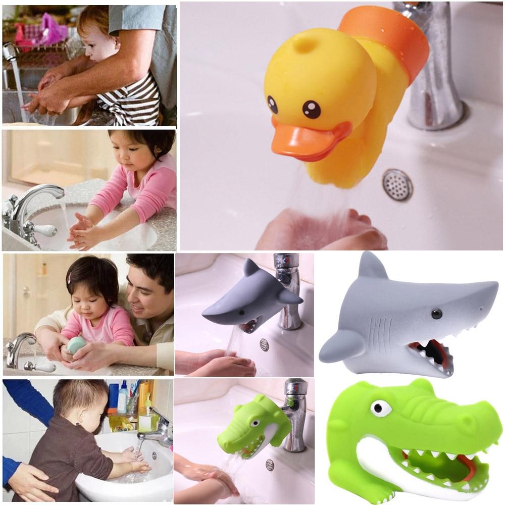 Kitchen Faucet Extender: Kitchen Bathroom Duck Faucet Extender Sink Handle Extender