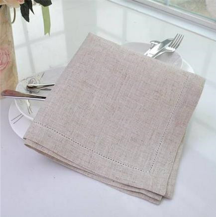 Free Shipping Good Quality High End Contracted And Modern 100 Linen Napkin Wedding Cloth Napkins Colors 3 Sizes Ka001 In Table From Home