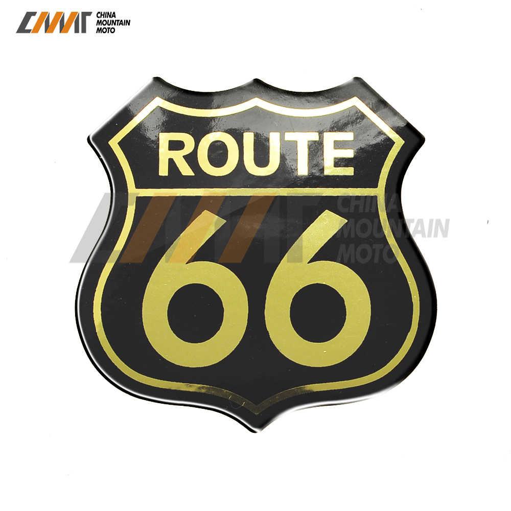 3D Motorrad Aufkleber Amerika UNS Route 66 Aufkleber Fall für Harley Touring Electra Road Glide König BMW GS S1000 Indische aufkleber