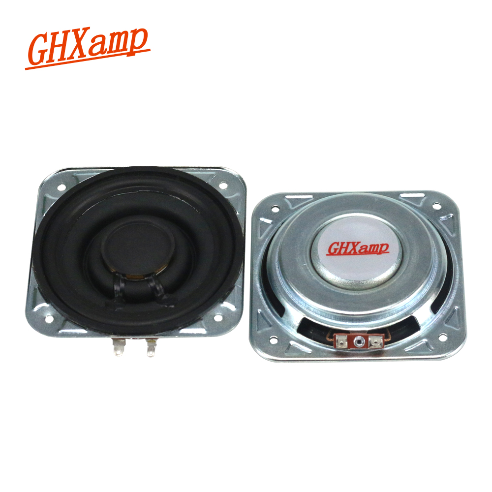 GHXAMP 3 inch 3OHM 20W For Woofer Full Range Midrange Speaker low-frequency Paper Pots Neodymium Voice Coil Large Stroke ghxamp 3 inch 4ohm 30w midrange speaker car speaker mid human voice sound good loudspeaker for lg diy 2pcs
