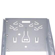 Автомобильная Замена стерео аудио комплект для переоборудования ISO 2 DIN установить металлическую клетку