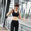 2018 Women Sports Bra High Impact for Fitness Yoga Running Pad Cropped Top 1