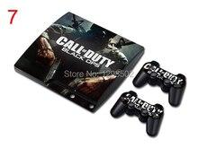 Autocollants de peau pour PS3 Console Call of Duty Slim petit peaux vinly pour Playstation 3