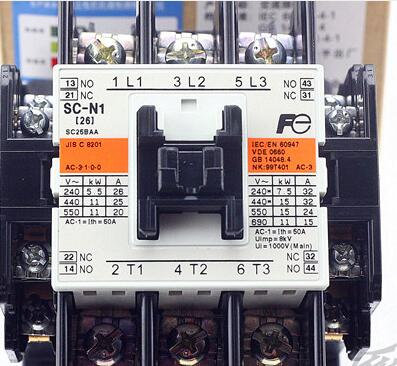 Electromagnetic contactor SC-N1 AC contactor 26A om zfv sc90 140605 industry industrial use automation plc module p v
