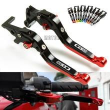 цена на For Honda CB 600 F CB600F CBF 600 CBF600 SA CBR600F Hornet 250 2013 2012 2011 2010 CNC Adjustable Motorcycle Brake Clutch Levers