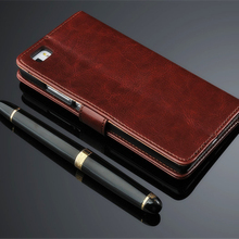 Genuine Leather Wallet Case Cover for Huawei P8 lite Flip Coque Fundas Luxury 2016 Version