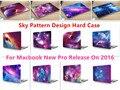 """Небо Шаблон Дизайна Ноутбук Тела Shell Защитный Футляр для Macbook Нью Pro 13 """"Retina 15"""" w/без Сенсорной Панели Release2016"""