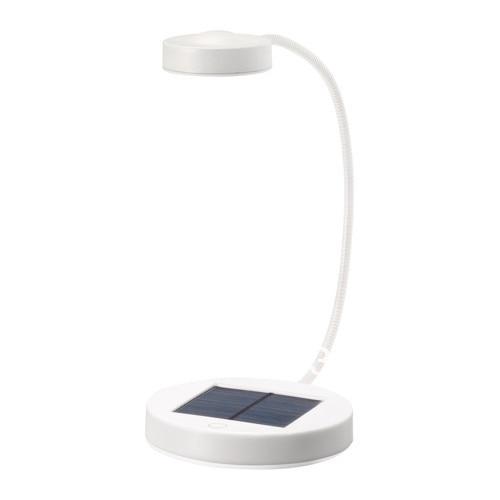 Onwijs Free DHL shipment IKEA solar LED reading Light,solar LED desk lamp JH-36