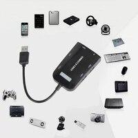 Multifunction 5Gbps 3 Ports Super Speed USB 3 0 Combo Hub Adapter SD TF MicroSD Memory