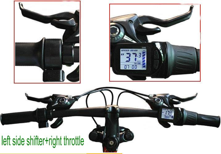 886 2 display throttle shifter