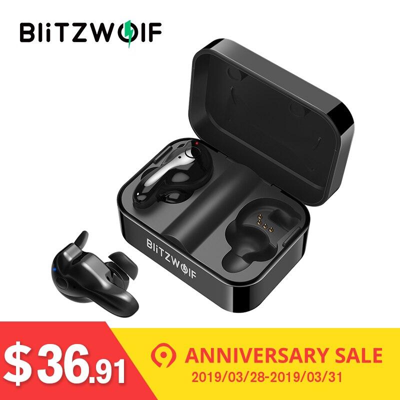 b4a58448fd7 Blitzwolf BW-FYE1 bluetooth V5.0 TWS True Wireless Sport Earphone TWS  Earbuds Hi. Mouse over to zoom in