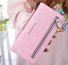 Fashionable new womens wallet, multi-functional retro simple large-capacity change Wallet