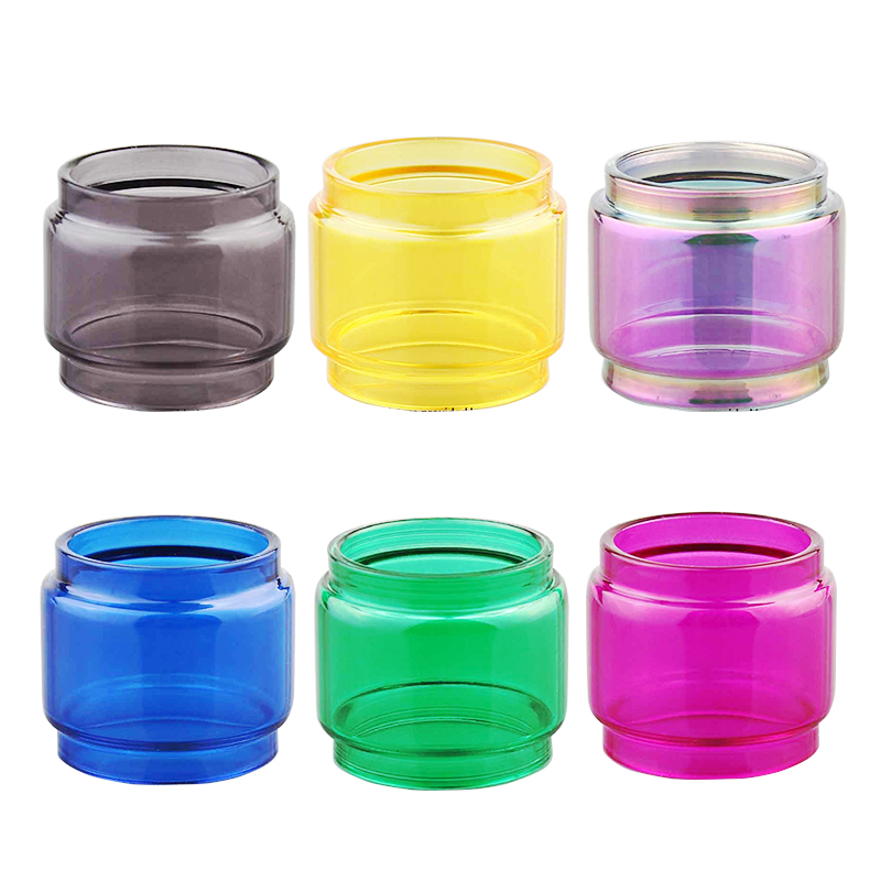 (2pcs/lot) YUHETEC <font><b>Bulb</b></font> Tank Pyrex <font><b>Glass</b></font> tube for Smok <font><b>TFV12</b></font> <font><b>Prince</b></font> RTA tank Atomizer vape accessory image