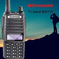 Baofeng BF UV 82HP ham radio Low Mid High walkie talkie 10 km tri power same as baofeng Radio