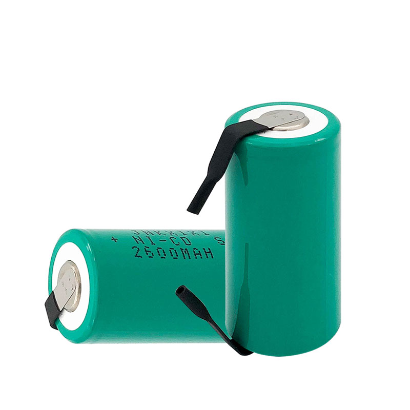 14pcs quality Green SC Ni CD battery 2600mah rechargeable battery replacement 1 2V with tab an Extension Cord Processed in Rechargeable Batteries from Consumer Electronics
