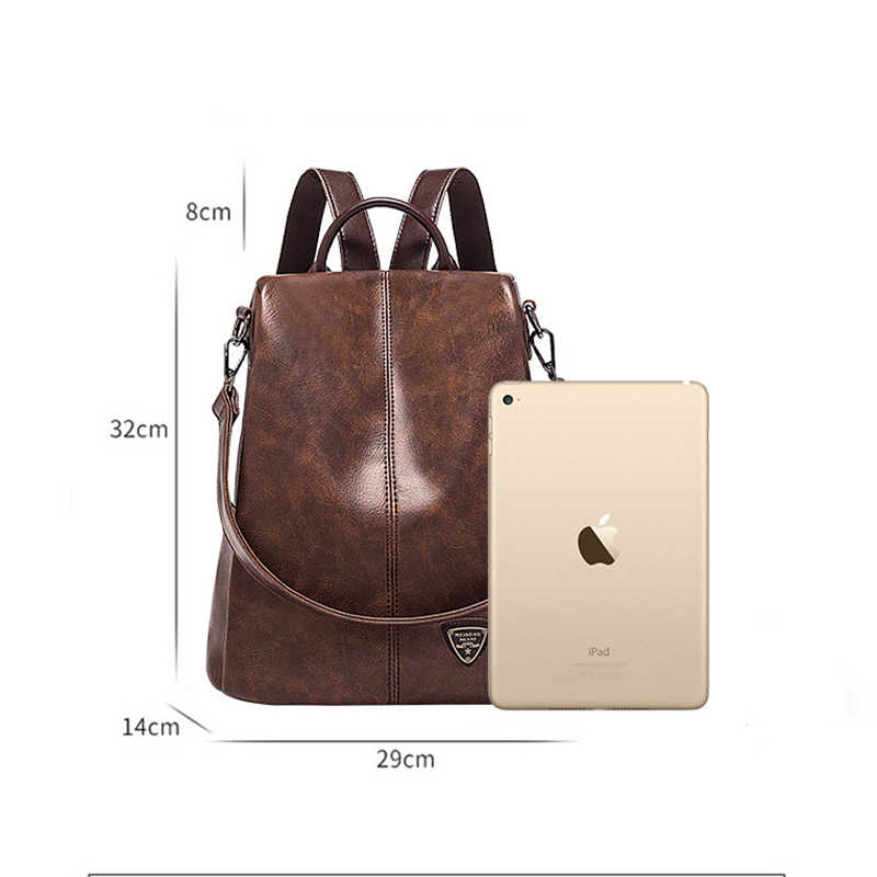 POMELOS, женский рюкзак, Новое поступление, высокое качество, из искусственной кожи, женский рюкзак, модный, Противоугонный, рюкзак, рюкзак