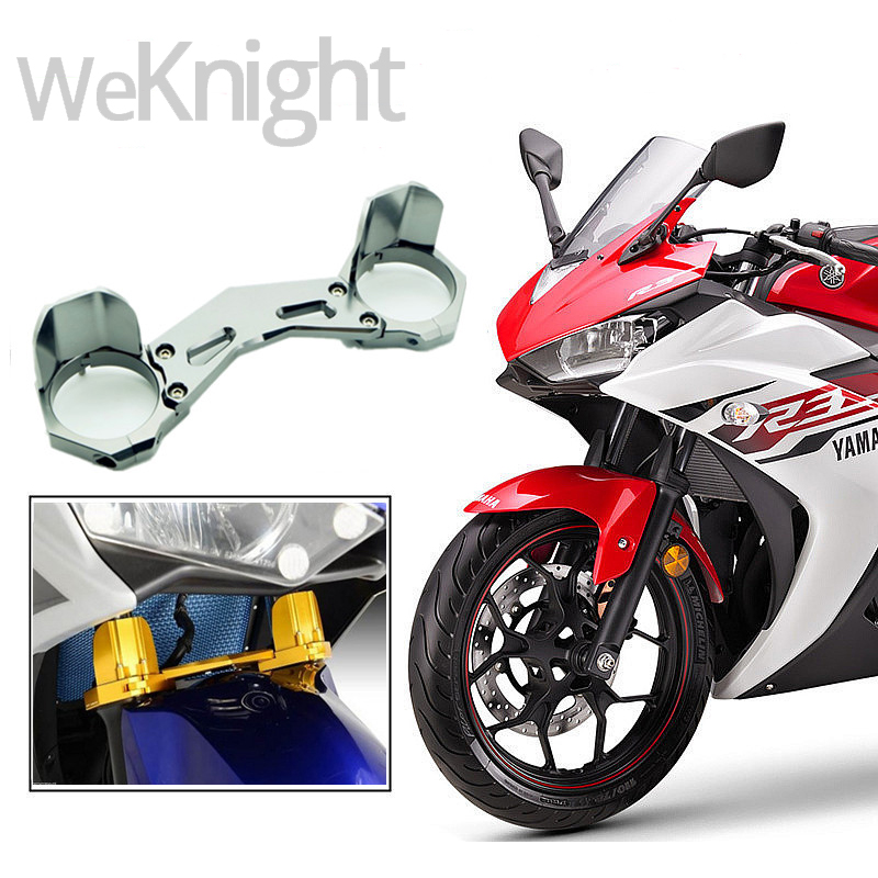 Motorcycle Accessories CNC Shock Absorber Damper Balance Brace Front Fork Bracket for yamaha YZF-R3 YZFR3 YZF R3 2015 2016  for kawasaki er6n er 6n 2009 2015 motorcycle accessories balance shock front fork brace red