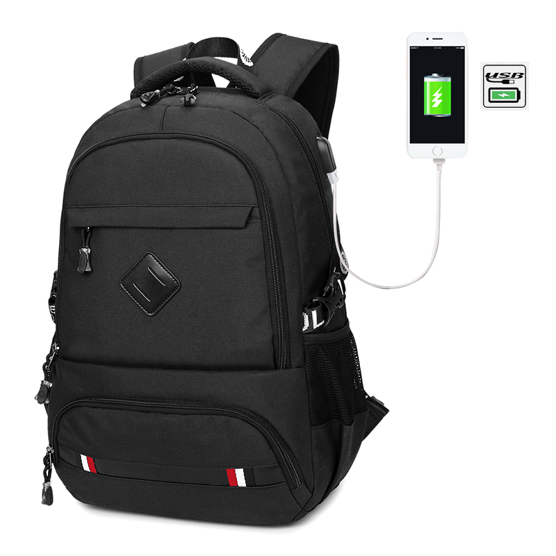 ФОТО External USB Charge Antitheft Notebook Backpack-B Design for Women Laptop Backpack Computer Bag