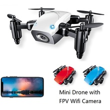 Global Drone S9W Mini Drone Folding Arms Altitude Hold One Key Ruturn Selfie Drone With Camera HD Quadrocopter VS JJRC H31