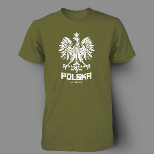 Polska Polish Dance Soccer Poland Football T-shirt Men 100% Cotton Printed Custom T Shirt Short Sleeve Size S~3XL