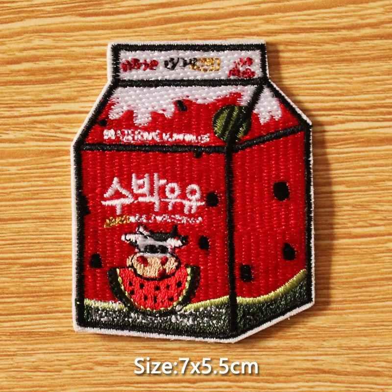 日本アニメ/刺繍パッチ DIY フックループ服漫画ボトルためのパッチを刺繍パッチパッチの服 Parches